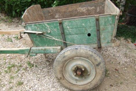 Restauration d un tombereau de montagne traits en savoie for Achat materiel restauration